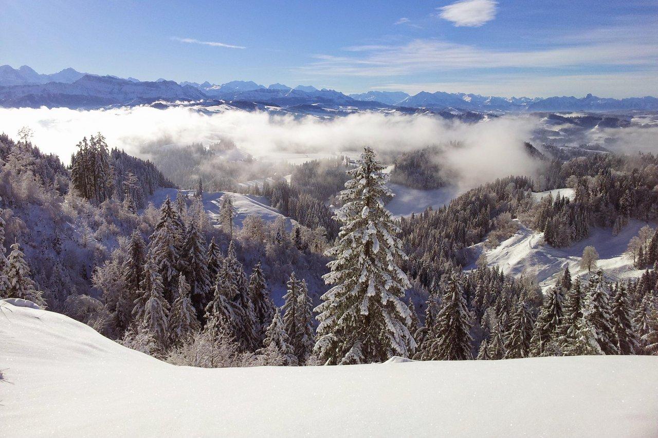 Schneetourenbus – Mountain Wilderness im Napfgebiet