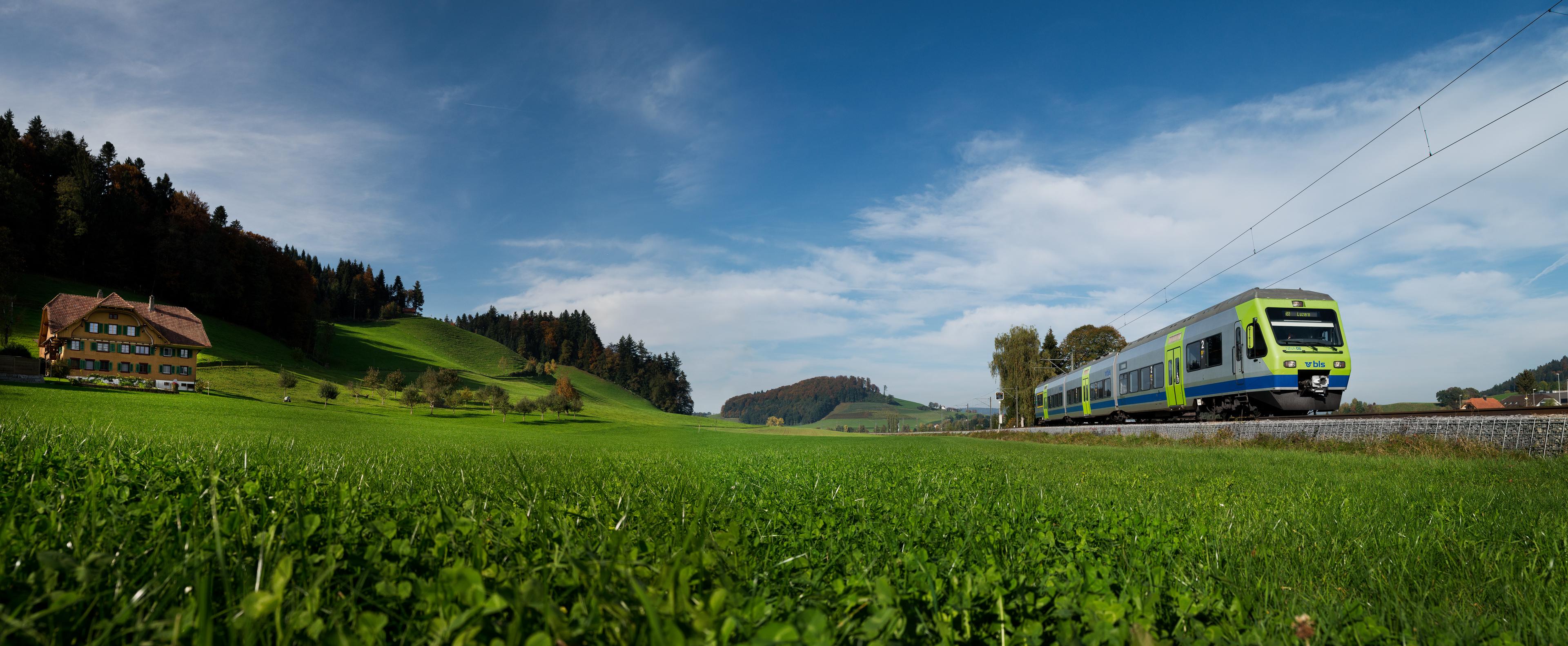 «Energieeffiziente Mobilität» – Ausgezeichnete Züge im nördlichen Napfgebiet