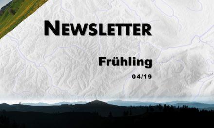 Newsletter 04/19