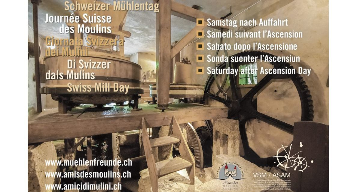 «Mühlen und Märchen» – Schweizer Mühlentag in der Region