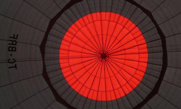 Willisau und Umgebung von oben – Impressionen Schweizermeisterschaft Heissluftballon