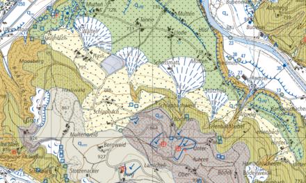 «Geologischer Atlas der Schweiz» neu für die ganze Napfregion