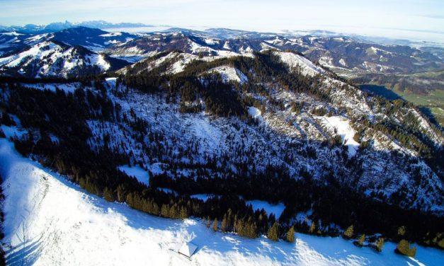Grosse lokale Waldschäden in Escholzmatt-Marbach