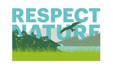 Aktion RESPECT NATURE: Rücksichtsvoll in freier Natur