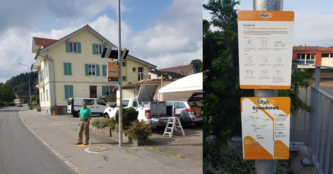 Taxito: Wiederaufnahme des Betriebs im Luzerner Hinterland