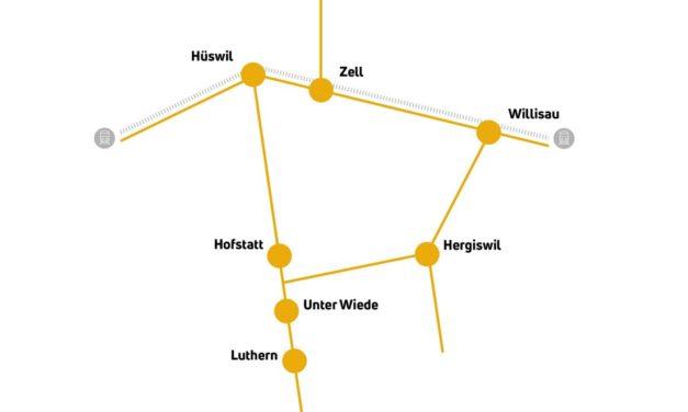 Luthern: Erweiterung Taxito-Netz