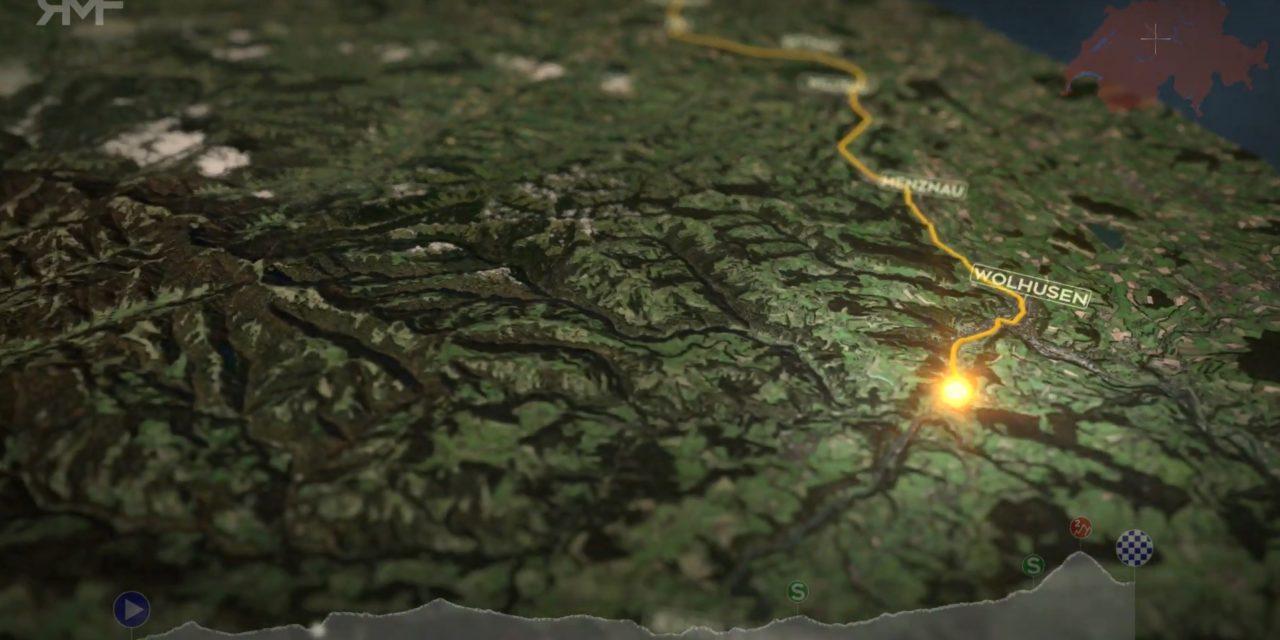 Durchfahrt Tour de Suisse 2021