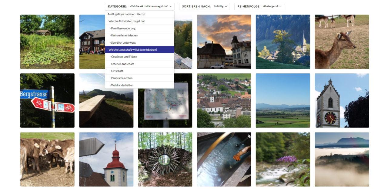 Ausflugstipps Sommer – Herbst bei NAPFDELTA.CH