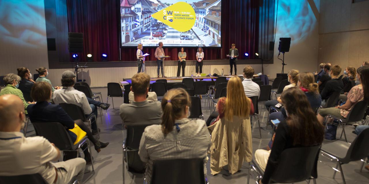 Durchführung 1. Swiss Water and Climate Forum in Willisau
